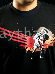 TUFF Muay Thai T-shirt Black Technique Muay Thai