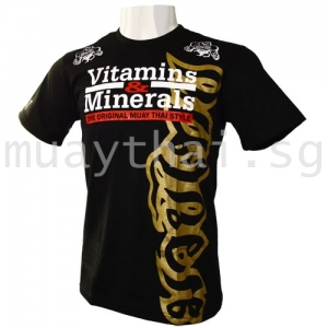 Muay Thai Style GOLD Tee by Vitamins and Minerals