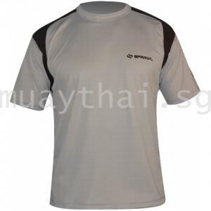 Short Sleeve Performance Tee Hook-Gray/Black - SPRAWL