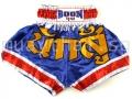 Muay Thai Shorts BLUE WARRIOR - Boon Sport