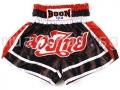 Muay Thai Shorts RED, WHITE & BLACK - Boon Sport
