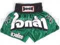 Muay Thai Shorts GREEN STARS - Boon Sport