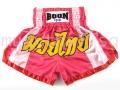Muay Thai Shorts PINK STRIPS - Boon Sport