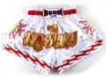 Muay Thai Shorts WHITE SUN - Boon Sport