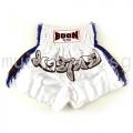 Muay Thai Shorts BLUE FRINGE - Boon Sport