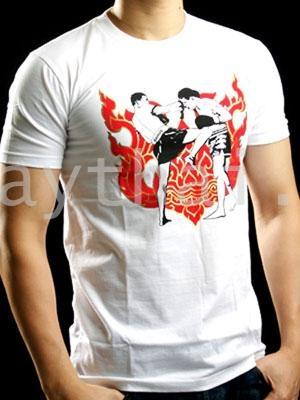 TUFF Muay Thai T-shirt White Boxing