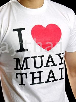 TUFF Muay Thai T-shirt I Love Muay Thai